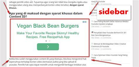advertising format adalah modifikasi ukuran iklan adsense menjadi besar sesuai layar