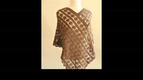 pattern you tube free crochet poncho tutorial youtube