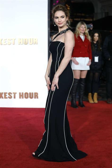 darkest hour katy tx lily james darkest hour premiere in london 04 gotceleb