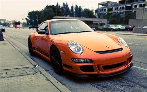 porsche orange porsche gt3 rs orange wallpaper hd car wallpapers id 2603