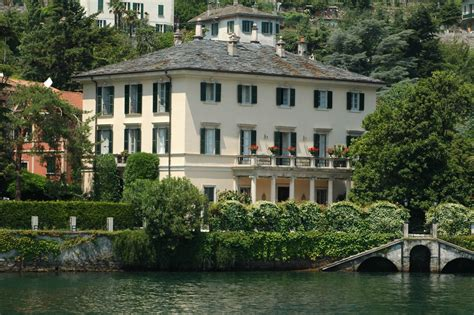 george clooney home in italy george clooney lake como house