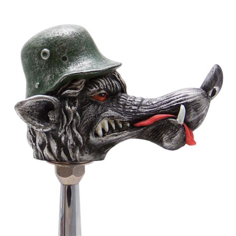 vonwolf wolf custom shift knob 171 american shifter