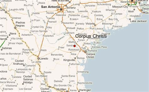 corpus christi on texas map corpus christi united states location guide