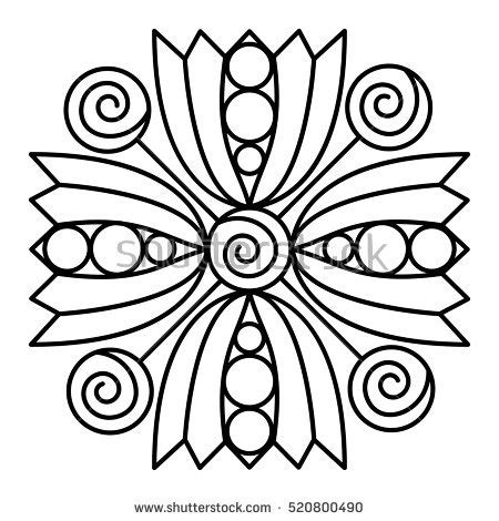 mandala coloring book for easy mandalas for beginners books flower mandala stock images royalty free images vectors