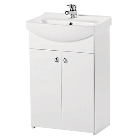 Homebase Vanity Units estilo bartley vanity unit with basin 50cm takeaway