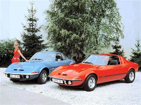 Car Opel by 1969 Opel Gt Opel Aero Gt Concept Car Concept Cars