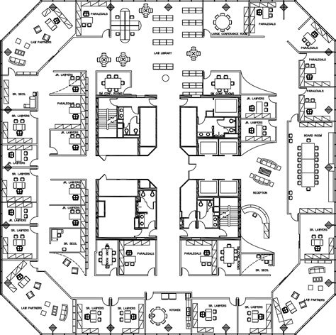 Law Firm Floor Plan | pelli law firm by sara nolting at coroflot com