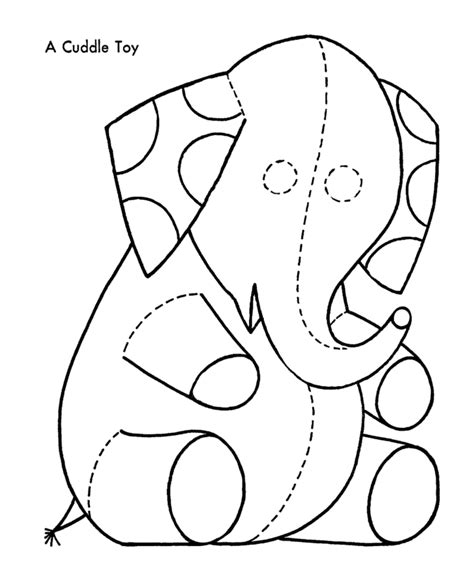 coloring pages of toys for christmas christmas toys coloring pages elephant cuddle toy