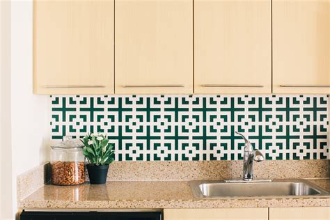 removable wallpaper backsplash 5 ways to redo your home without renovating this fall