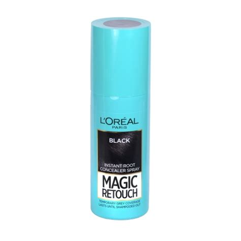 Loreal Instant White loreal magic retouch instant root touch up concealer black 75ml