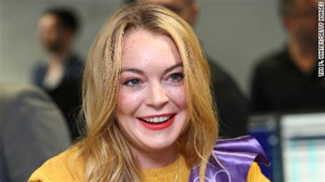 Is Lindsay Lohan These Days lindsay lohan s new accent is confusing a lot of cnn