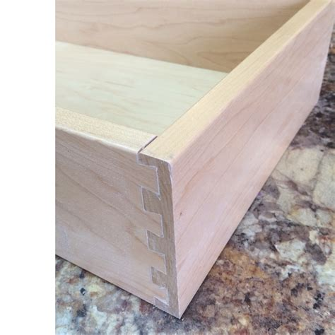 Maple Drawer Boxes by New Lower Prices Replacement Solid Maple Dovetailed