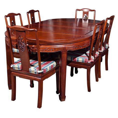 chinese dining room furniture rosewood chinese dining room set at 1stdibs