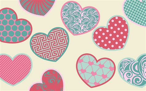 wallpaper of colorful hearts colorful hearts wallpaper 1084374