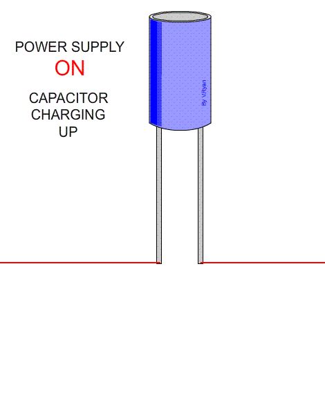 a 1 uf capacitor is charged by being connected capacitors