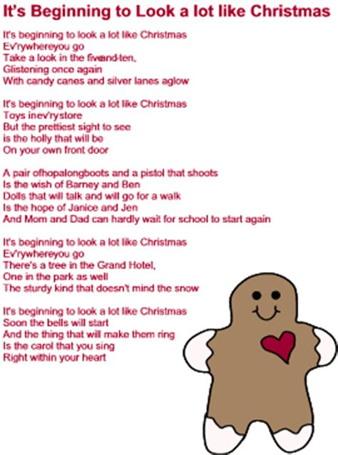 its beginning to look a lot like christmas chords it s beginning to look a lot like christmas lyrics