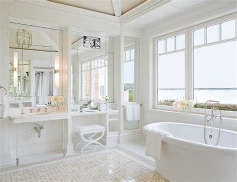 Spa Like Bathroom Paint Colors - hamptons ny ii beach style bathroom new york by alice black interiors