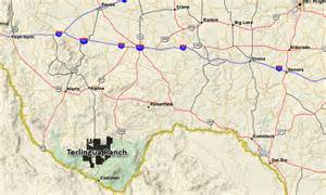 terlingua map terlingua ranch tx land for sale