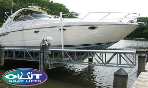 boat lift walkway 12 best up out boat lifts images on pinterest boat
