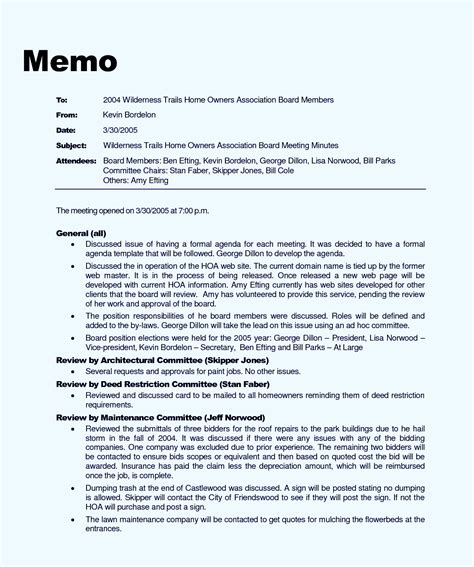 Memorandum Template In Word free memo template word doc