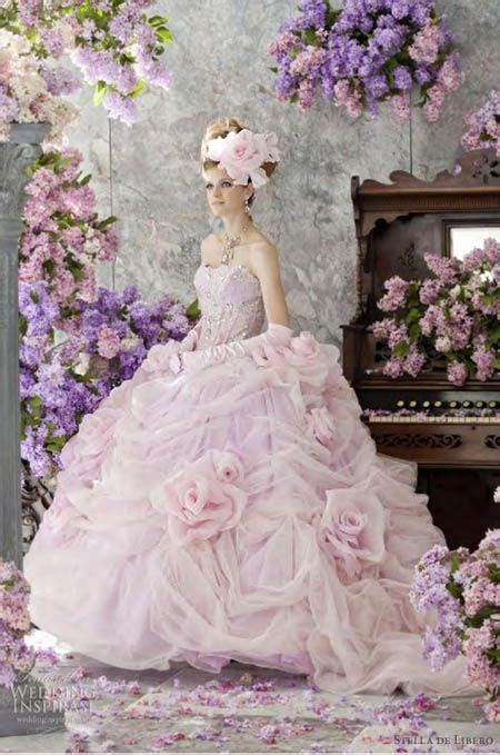 7 Most Amazing Dresses From Chicstarcom by These Are The Most Amazing Pink Wedding Dresses Http