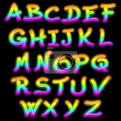laras de neon fotomural las letras alfabeto de signos de ne 243 n psicod 233 lica de luz lettere alfabeto