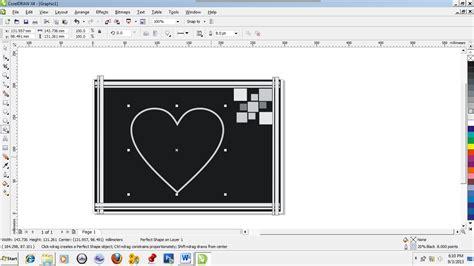 cara membuat bingkai undangan dengan corel draw cara membuat bingkai foto dengan corel draw belajar