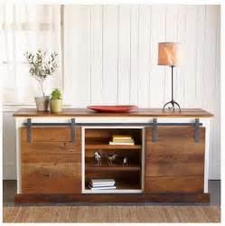 Barn Door Tv Stand Diy That S My Letter Diy Sliding Door Console