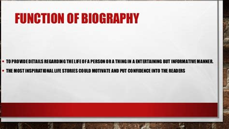 definition of biography and autobiography biography definition function and types