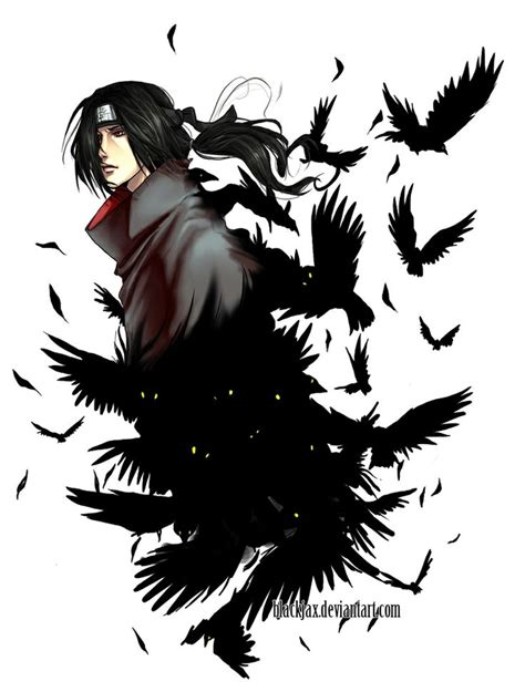 itachi tattoo design itachi crows www pixshark images galleries