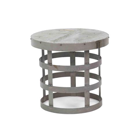 small round metal accent table round metal accent table furniture ideas
