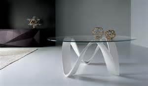 Oval Dining Room Table Table Basse En Verre Blanche 23 Id 233 Es Pour Le Salon Moderne