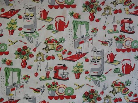retro 50s kitchen wallpaper everything retro pinterest