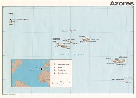 map of azores hadden hawkinsons azores map information about