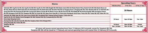 ntuc operating hours new year fairprice operating hours new year 28 images ntuc