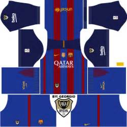 Updated dls 16 barcelona kits 2016 2017 home away alternate links