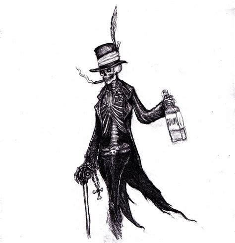 baron samedi by kingovrats on deviantart