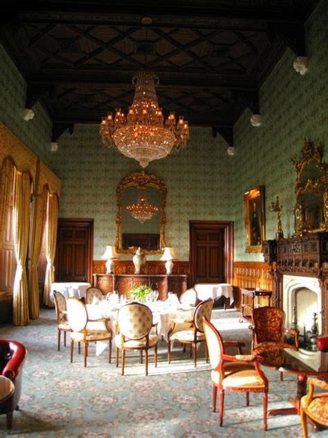 The Dining Room Ie by Ashford Castle Irlande Le De Isdael