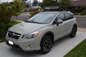 Subaru Crosstrek Roof Basket Yakima Loadwarrior Roof Rack Cargo Basket With Extension