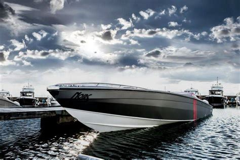 speed boats for sale london london motor group reveals project noire powerboat senatus