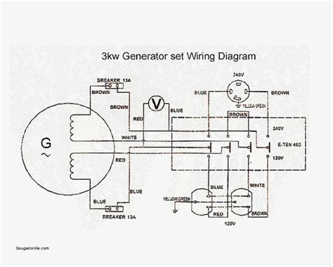 genset wiring diagram wiring diagram with description