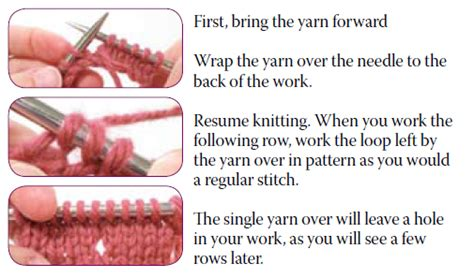 how to increase 1 stitch in knitting lace increases and decreases