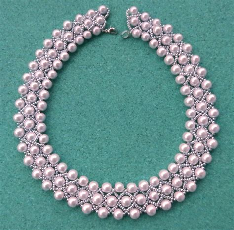 free jewelry free pattern for beaded necklace lada magic