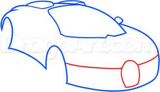 How To Draw A Bugatti Step By Step How To Draw A Bugatti Veyron Step By Step Cars Draw