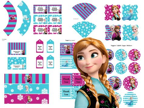 Disney Frozen Party Package - Magical Printable Elsa Games Free Download
