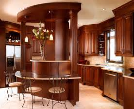 Best Wood Kitchen Cabinets by Two Tones Style With Kitchen Colors With Dark Wood
