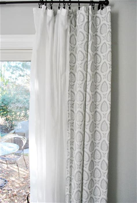 double hung curtains eight more living room curtains young house love