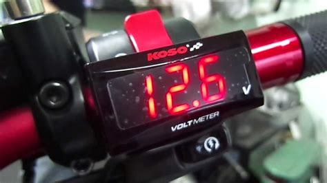 Volt Meter Merk Koso Koso Digital Volt Meter