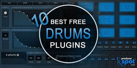 best vst free 10 best free drum vst plugins drum kits instruments