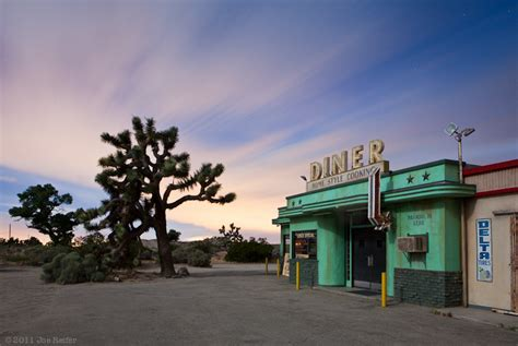 Gas Station Floor Plans Mojave Desert Night Photography The Four Aces Movie